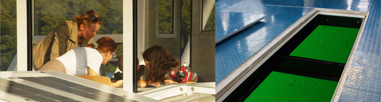 Fotos: Seminar und absenkbarer Glasboden